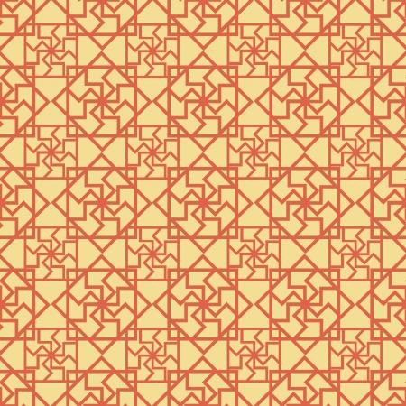 Chinese Pattern Background  Illustration
