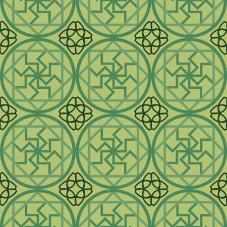 Chinese Pattern Background  Illustration