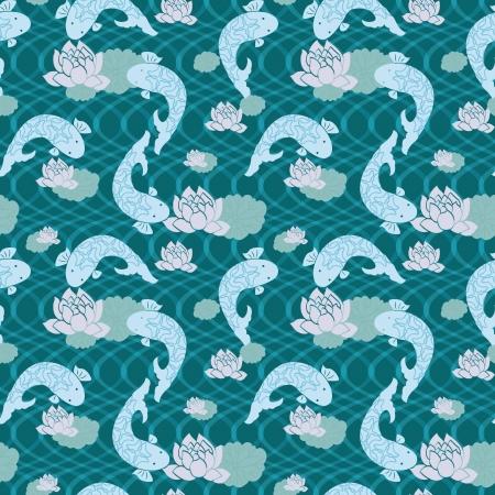 chinese pattern: Chinese Pattern Background  Illustration