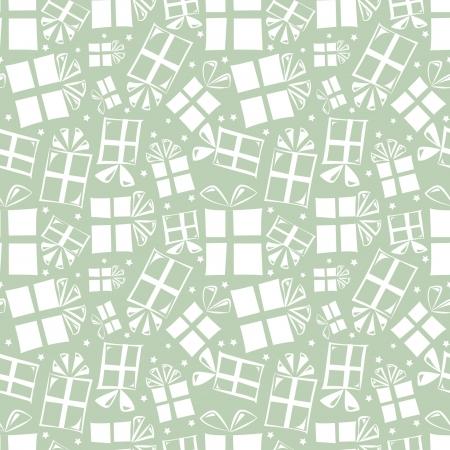 Gift boxes - seamless pattern wallpaper retro