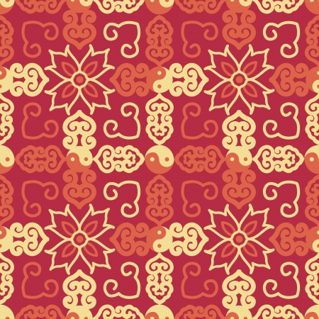 Chinese Pattern Background  Stock Vector - 14257713