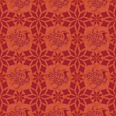 Chinese Pattern Background  Stock Vector - 14257720