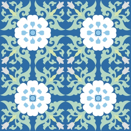 Chinese Pattern Background Stock Vector - 14257668