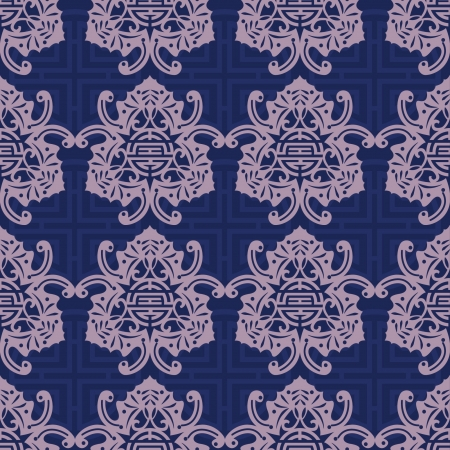 Chinese Pattern Background Stock Vector - 14257684