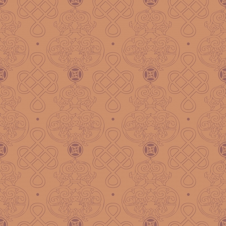 Chinese Pattern Background Stock Vector - 14257679