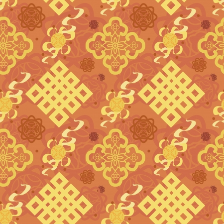 Chinese Pattern Background Stock Vector - 14257678