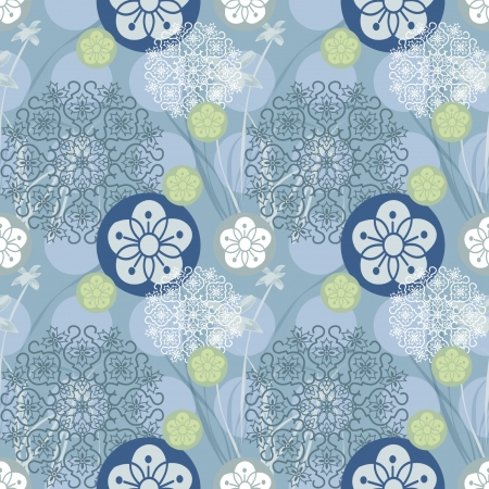 Floral Background Compatible Stock Vector - 14257719