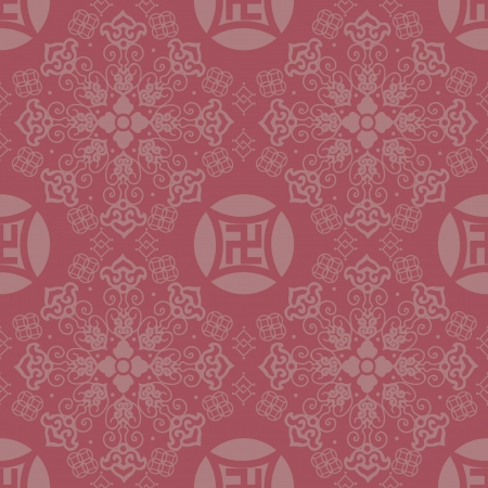Chinese Pattern Background Stock Vector - 14257726