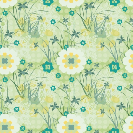 Floral Background Compatible  Vector