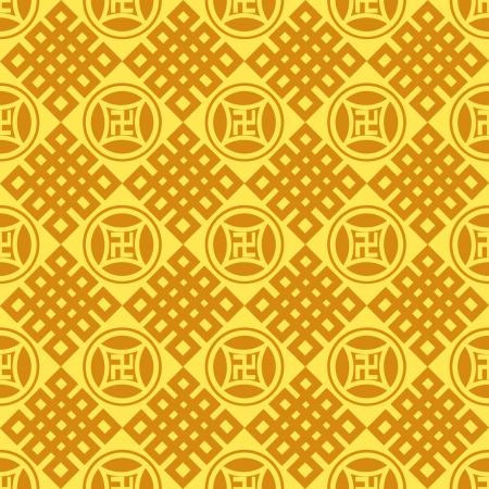 Chinese Pattern Background  Stock Vector - 14257722