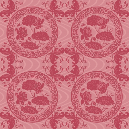 Chinese Pattern Background  Stock Vector - 14257733