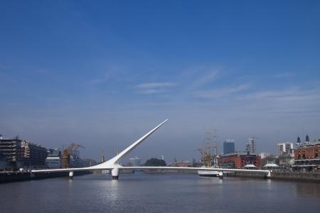 mujer: Puente de la mujer  in Buenos Aires Stock Photo