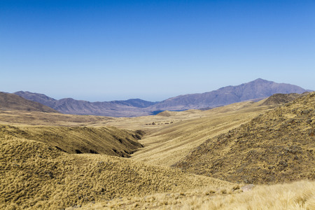 high plateau: The high plateau of the Andes in northeastern Argentina. Stock Photo
