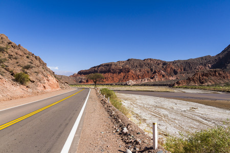 long routes through the mountains, valleys and gorges of Argentina photo