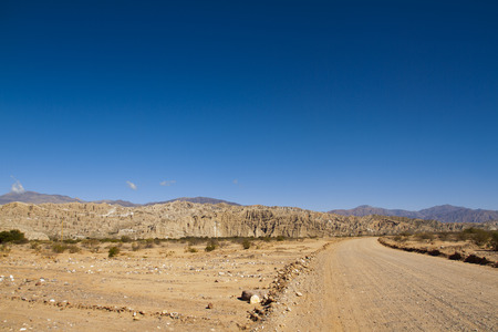 ruta: Route 40 crosses Argentina from north to south, crossing inhospitable places left eye of man