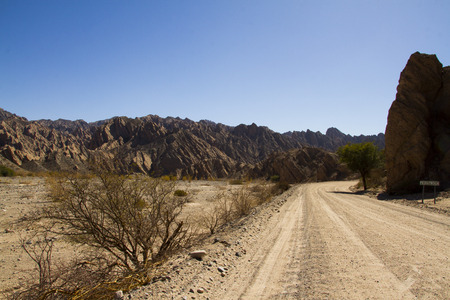 inhospitable: Route 40 crosses Argentina from north to south, crossing inhospitable places left eye of man
