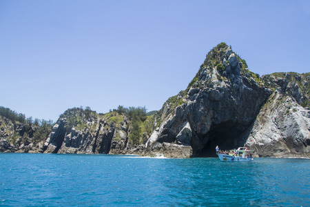 caribe: blue cavern on the cost
