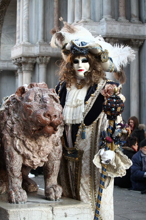 venice carnival: Costumes and mask in Venice Carnival. Deceit, mystery, fun and secret behind the masks of Venice. Every year in late February hundreds of people choose the mystery behind the masks.