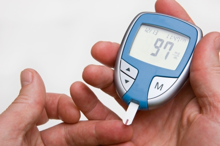diabetic: Testing Blood Sugar