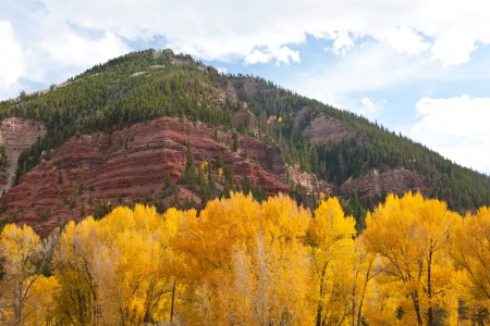 Aspen and Red Rocks of Colorado photo