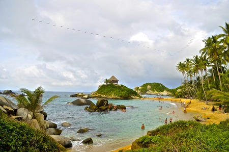 Cabo San Juan, Tayrona Park, Colombia photo
