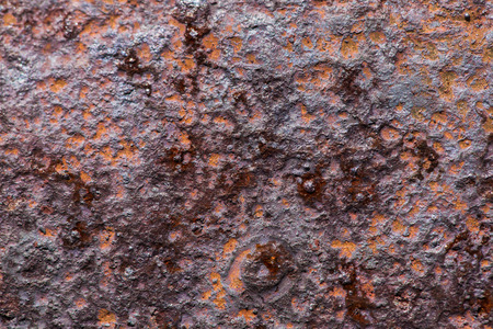 corrode: Background texture of rusted steel, grunge rust metal Stock Photo