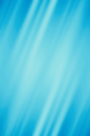 Blue abstract glass texture background or wallpaper, design pattern template with copyspace. Vertical mobile backdrop Stock Photo