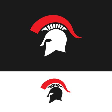 Sparta vector design , in vector spartan logo.