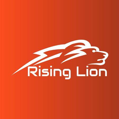 lion vector design pride icon.  イラスト・ベクター素材