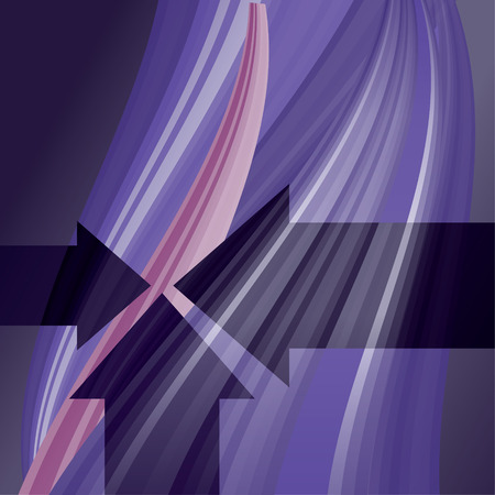 Abstract background with lines and arrows
