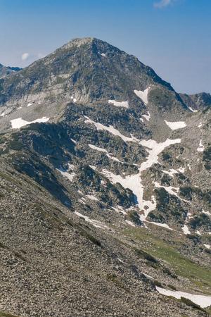 Panoramic view to Muratov Peak, Pirin Mountain, Bulgaria