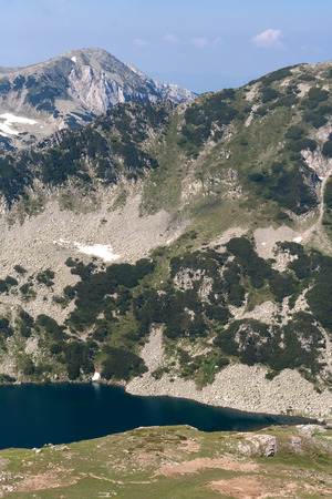 Beautiful summer view of Vlahini Lakes, Pirin Mountain, Bulgaria