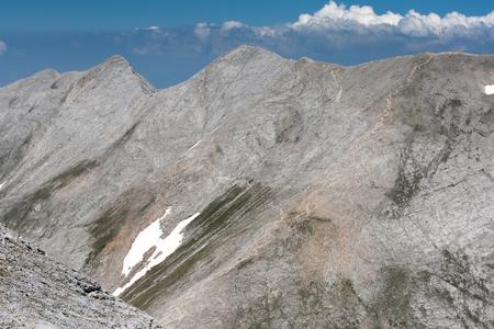 Panoramic view to Kutelo Peak and Koncheto, Pirin Mountain, Bulgaria Stock Photo