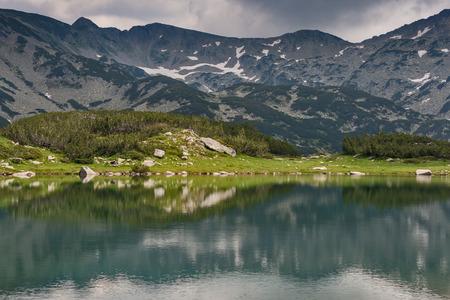 Amazing view of Muratovo Lake, Pirin Mountain, Bulgaria
