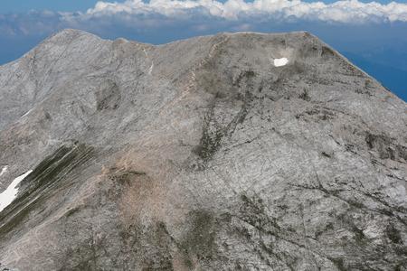 Amazing view to Kutelo Peaks, Pirin Mountain, Bulgaria Stock Photo