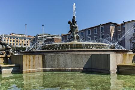 ROME, ITALY - JUNE 22, 2017: Amazing view of piazza della repubblica, Rome, Italy Editorial