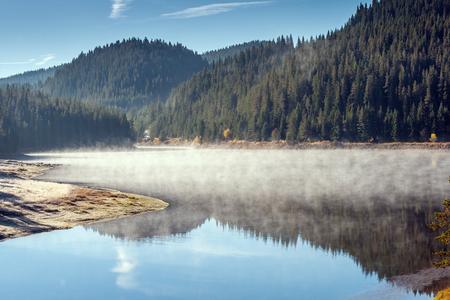 Amazing Autumn of Golyam Beglik Reservoir, Rhodopes Mountain, Bulgaria