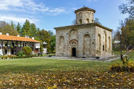 ZEMEN, BULGARIA - OCTOBER 20, 2016: Autumn view of Zemen Monastery, Pernik Region, Bulgaria