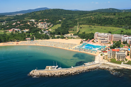 Aerial view of Dyuni Resort, Burgas Region, Bulgaria Фото со стока