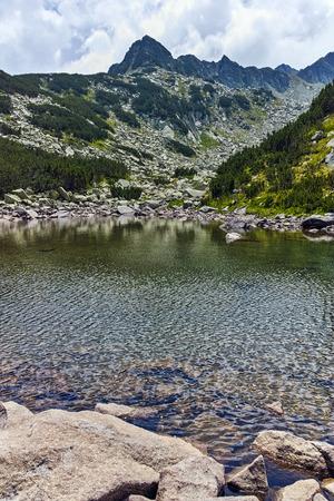Amazing landscape of Upper Muratovo lake, Pirin Mountain, Bulgaria