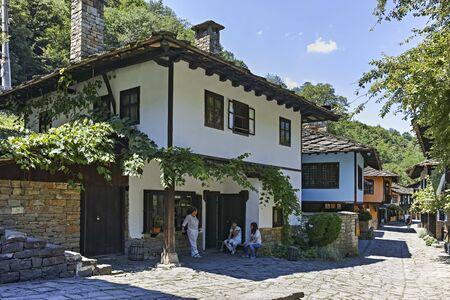ETAR, GABROVO, BULGARIA- JULY 6, 2018: Architectural Ethnographic Complex Etar (Etara) near town of Gabrovo, Bulgaria