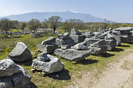 Ruins of the Antique city of Philippi, Eastern Macedonia and Thrace, Greece