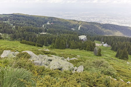 Summer Landscape of Vitosha Mountain, Sofia City Region, Bulgaria