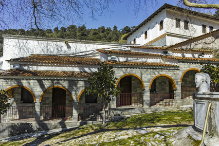 Medieval Holy Monastery of Holy Mary Eikosifoinissa, East Macedonia and Thrace, Greece