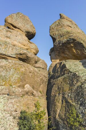 Sunset Landscape of Rock Formation Belogradchik Rocks, Vidin Region, Bulgaria
