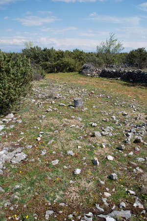 countryside landscape: Landscape Croatian Countryside