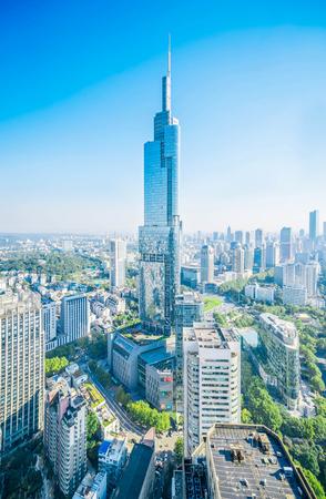Heart of Nanjing landscape