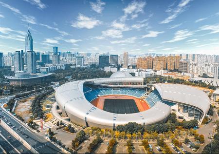 Changzhou Olympic Center Editorial
