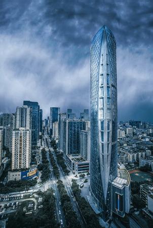 China skyscraper Editorial