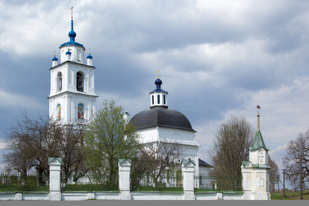 ortodox: Orthodox Church of the Transfiguration in Spas, Russia